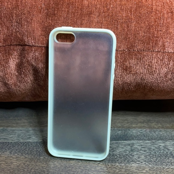 Frosted Cream Border iPhone 5 Case